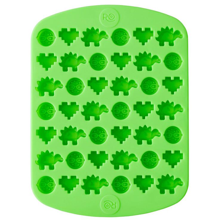 ROSANNA PANSINO by Nerdy Nummies Silicone Candy Mold, 42-Cavity