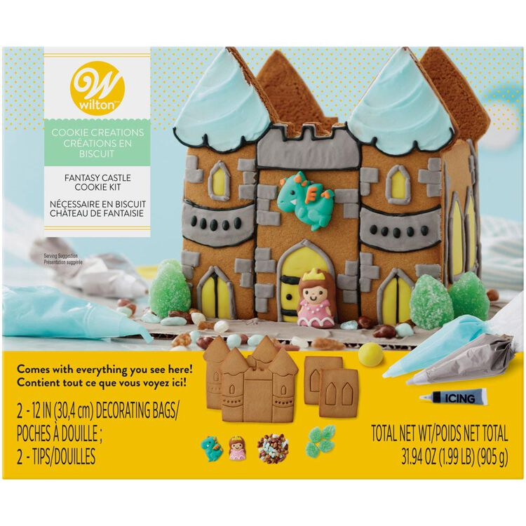 Cookie Creations Fantasy Castle Cookie Kit