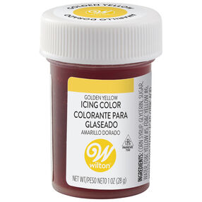 Golden Yellow Gel Food Coloring Icing Color