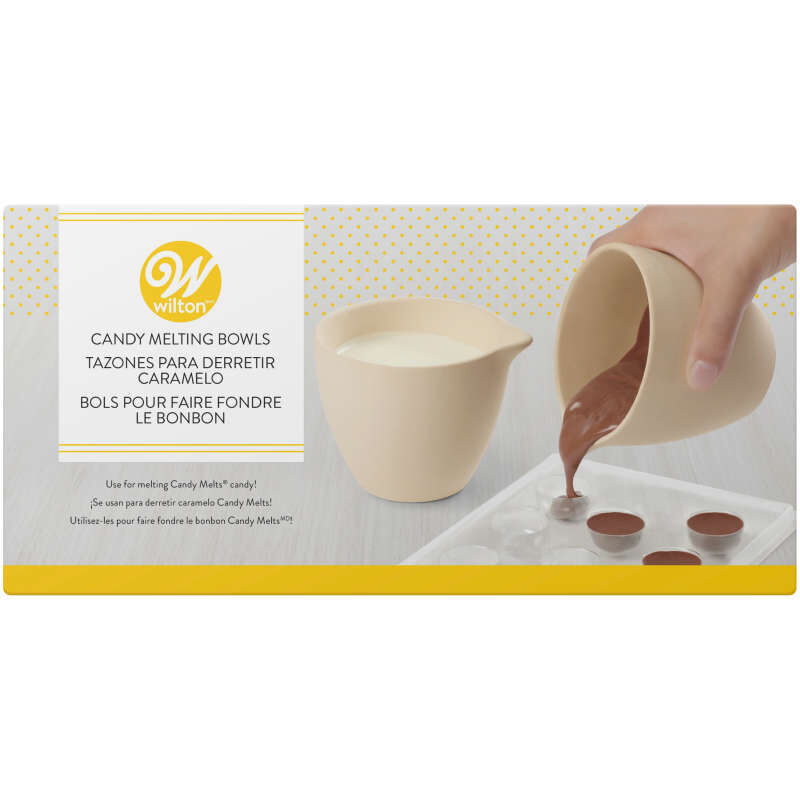 Candy Melts Candy Ceramic Melting Bowls In Packaging image number 0