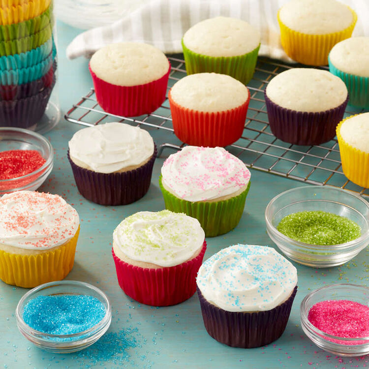 Bright Standard Cupcake Liners, 300-Count
