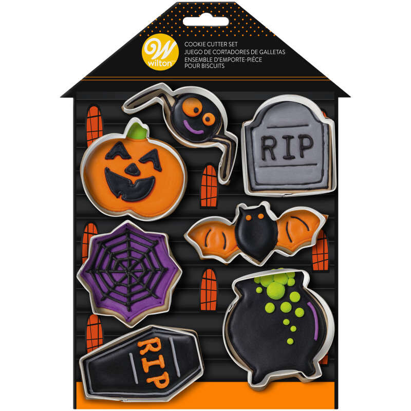 Halloween Cookie Cutter Set, 7-Piece image number 1
