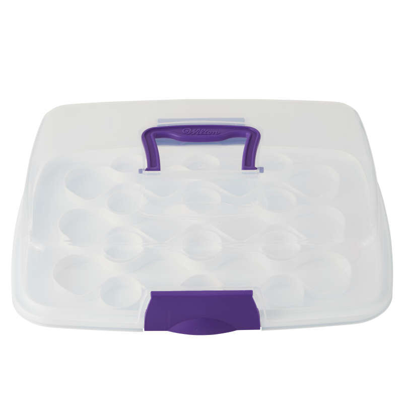Rectangle Cupcake Carrier with Cover image number 0