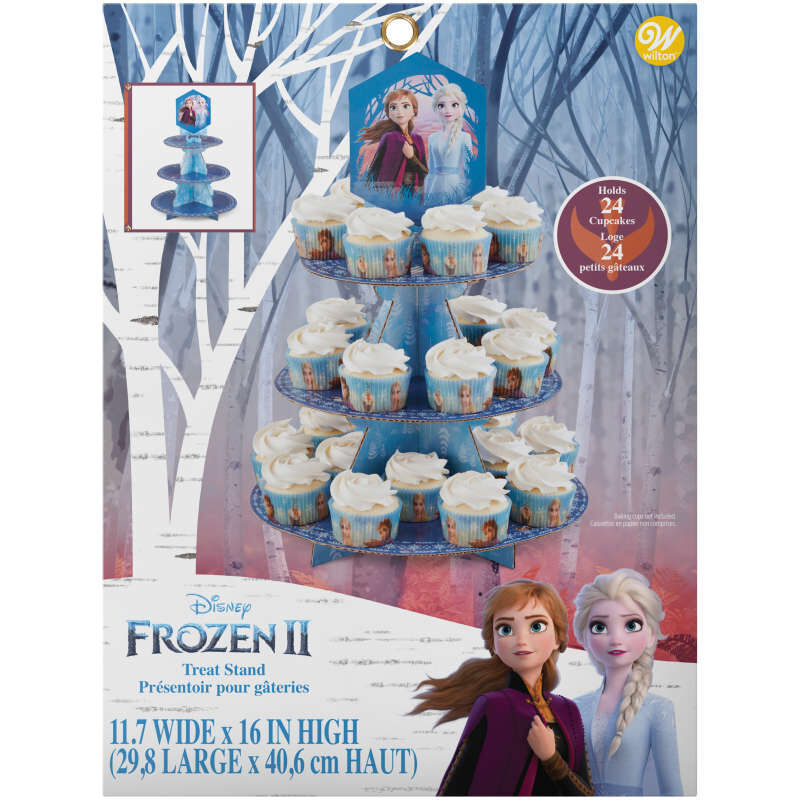 Frozen 2 Cupcake Stand in Packaging image number 1