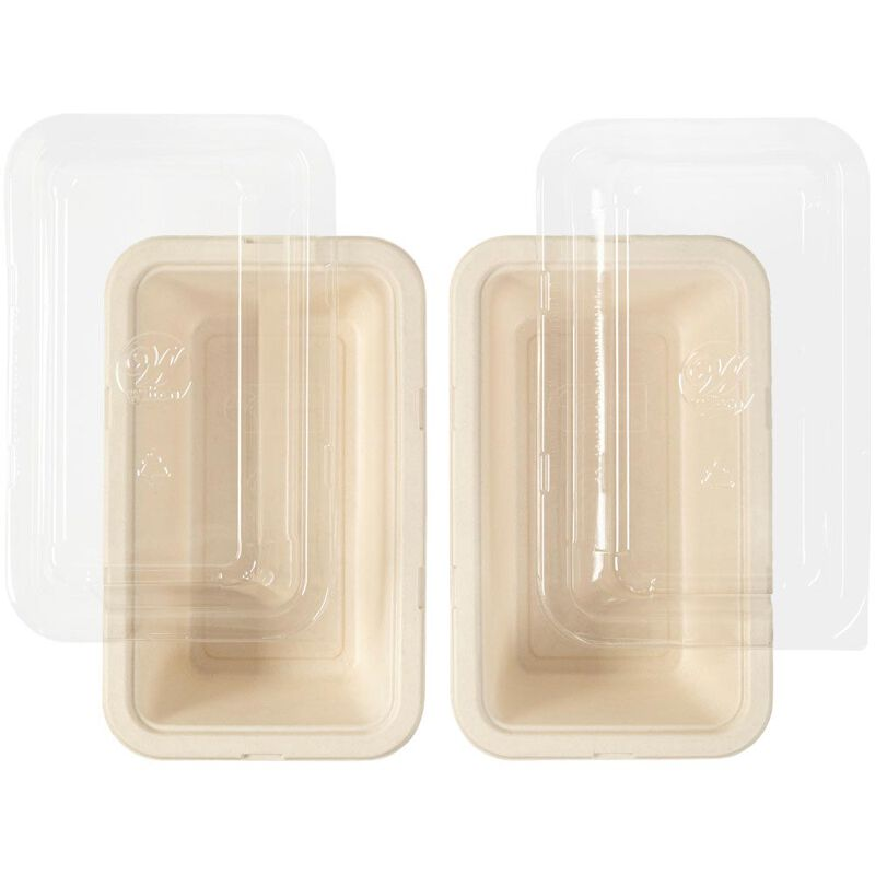 Disposable Loaf Baking Pans with Lids, 2-Count image number 2