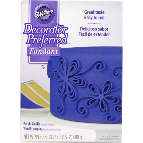 Decorator Preferred Purple Fondant