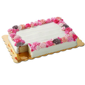 Scalloped Gold Cake Boards