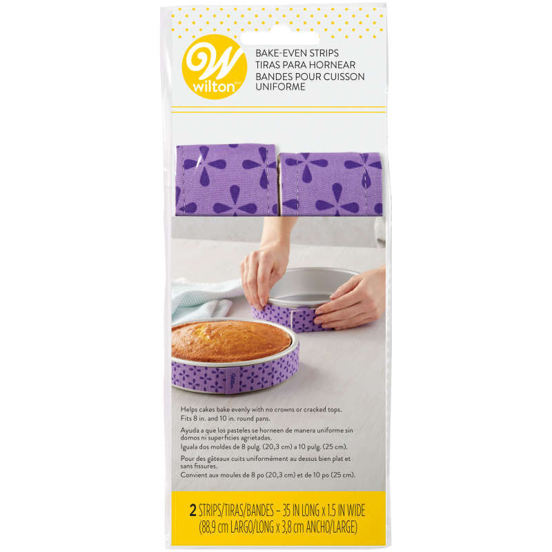 Bake Even Cake Strips for Cake Pans, 2-Piece image number 1