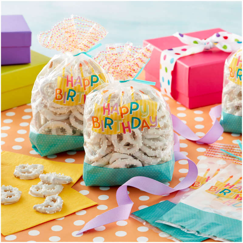 Happy Birthday Treat Bags, 30-Count image number 3
