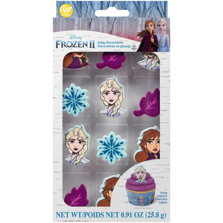 Disney Frozen 2 Candy Decorations in Packaging