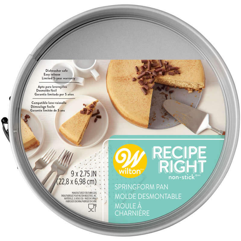 Recipe Right Non-Stick Springform Tin, 9-Inch image number 1