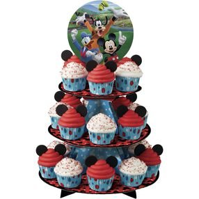Mickey and The Roadster Racers Cupcake Stand