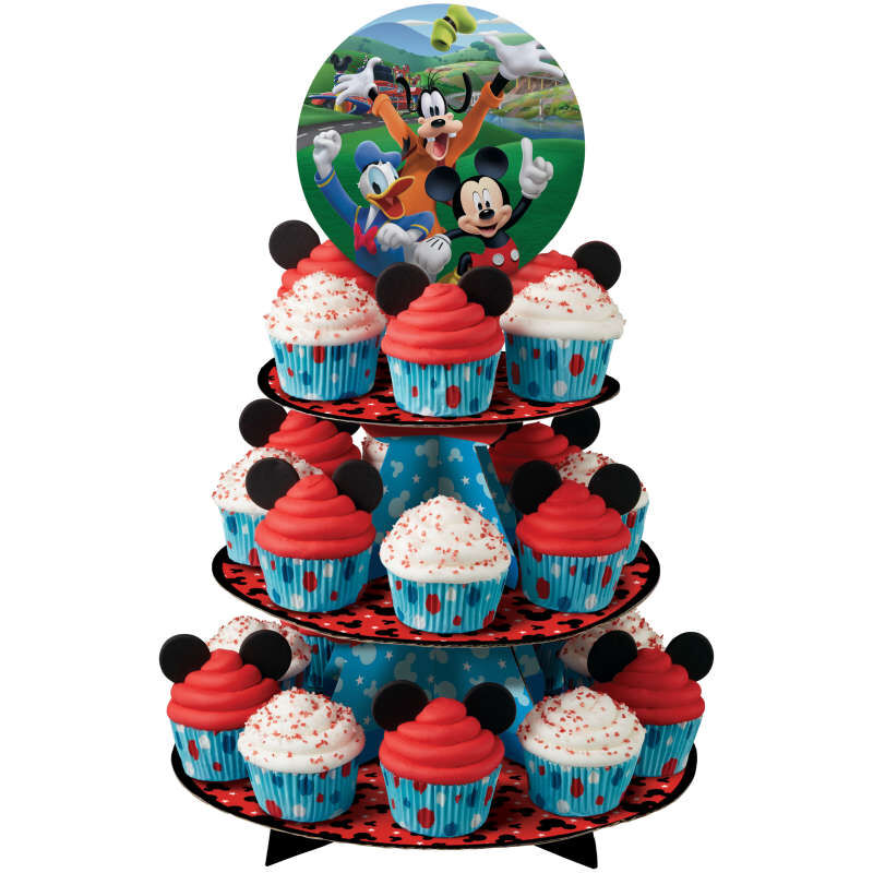 Mickey and the Roadster Racers Cupcake Stand in Use image number 8
