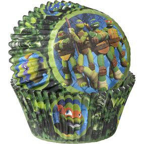 Teenage Mutant Ninja Turtles Cupcake Liners
