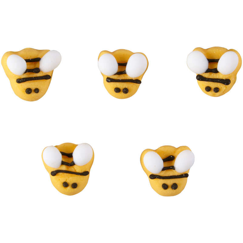 Bumble Bee Icing Decorations, 18-Count image number 0
