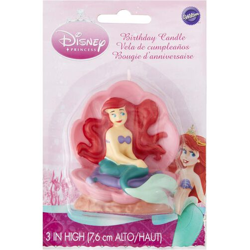 Disney Princess Ariel Candle
