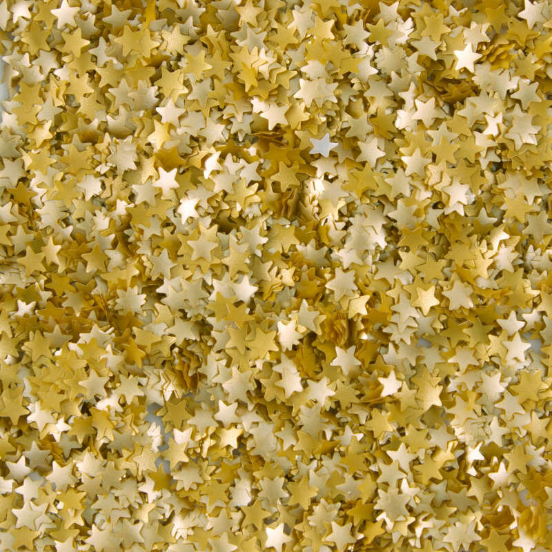 Edible Glitter Gold Stars, 0.4 oz. image number 3