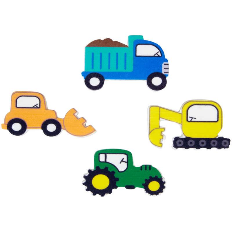 Truck Icing Decorations, 12-Count image number 0