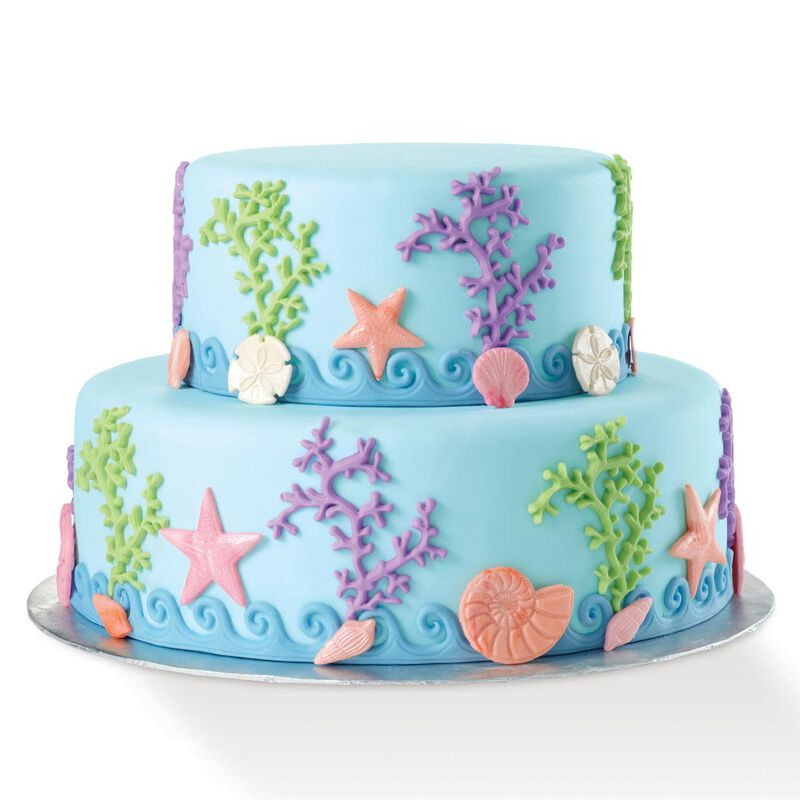 Silicone Sea Life Fondant and Gum Paste Mold - Cake Decorating Supplies image number 2