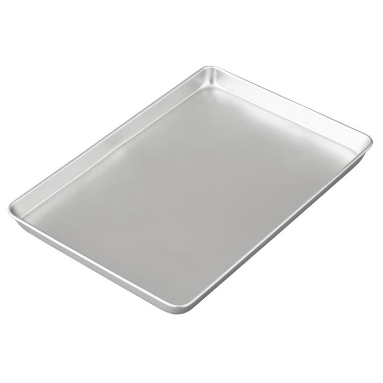Performance Pans Aluminum Jelly Roll and Cookie Pan, 10.5 x 15.5-Inch