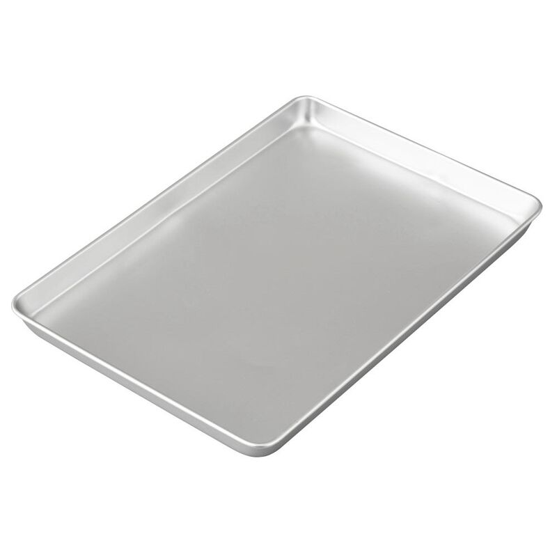 Performance Pans Aluminum Jelly Roll and Cookie Pan, 10.5 x 15.5-Inch image number 2