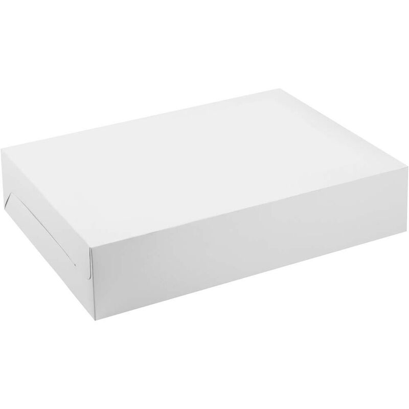 10x14 Plain Cake Box image number 0