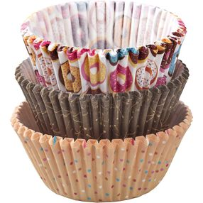 Donut Stand Cupcake Liners, 75-Count