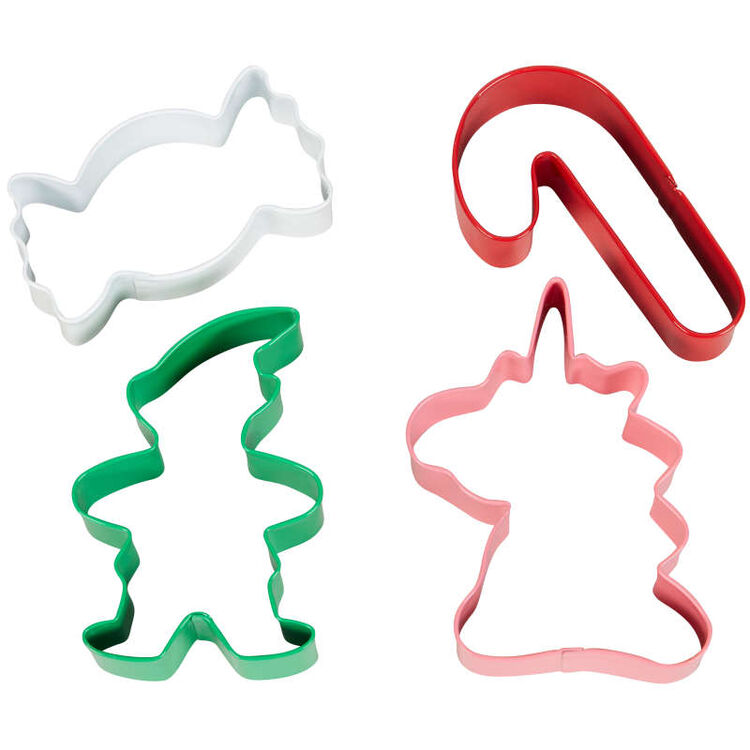 Winter Candyland Cookie Cutter Set, 4-Count