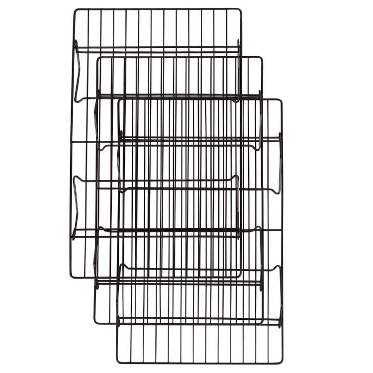 Recipe Right Non-Stick Cooling Rack Set, 3-Piece