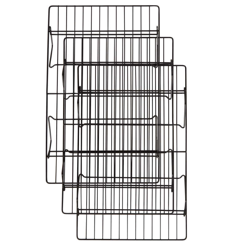 Recipe Right Non-Stick Cooling Rack Set, 3-Piece image number 2