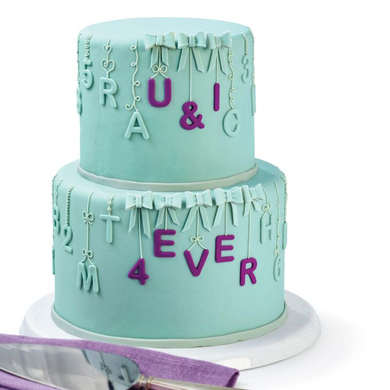 Letter and Number Fondant Cutters Set, 40-Piece image number 3