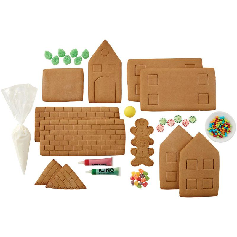 Build it Yourself Grand Gingerbread Manor Decorating Kit image number 2