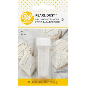 White Pearl Dust, 0.05 oz.