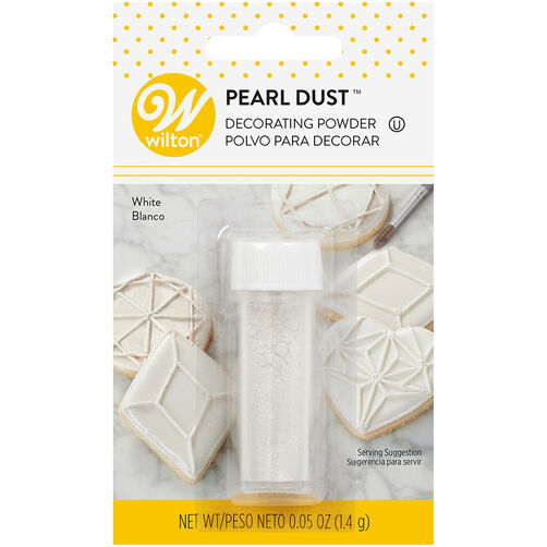 White Pearl Dust, 0.5 oz.