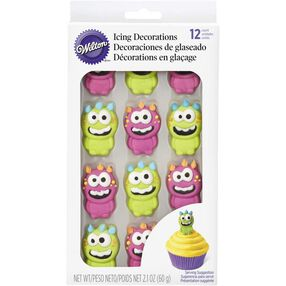 Wilton Monster Royal Icing Decorations