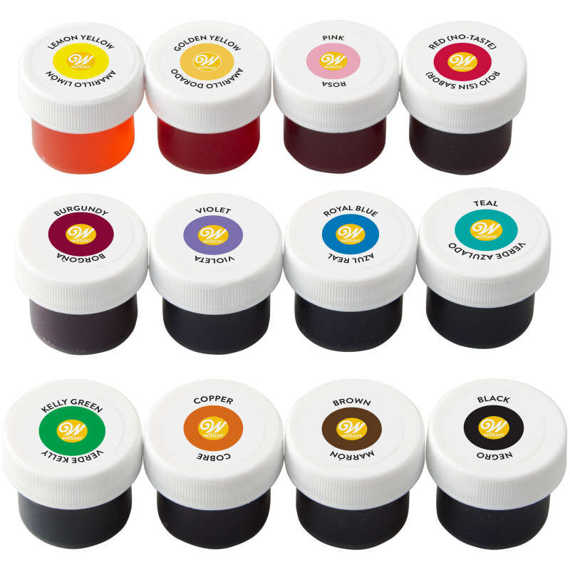 Icing Colors Gel Food Coloring, 12-Count image number 1