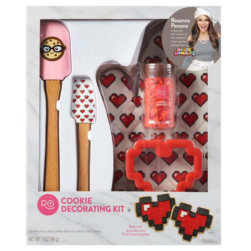 ROSANNA PANSINO by Cookie Decorating Kit, 5-Piece - Cookie Decorating Supplies image number 1