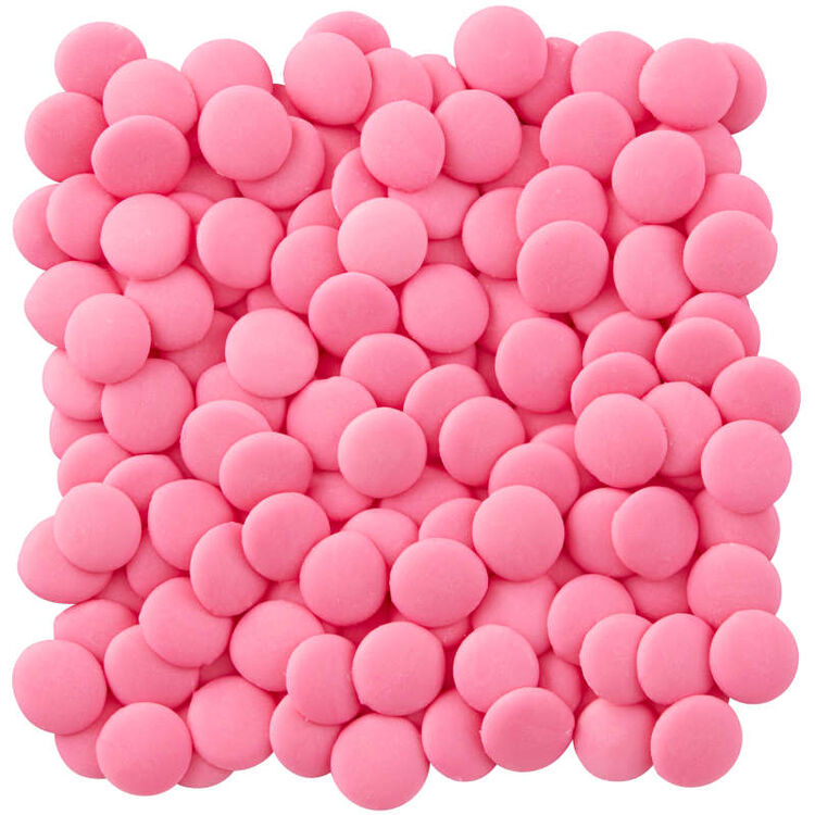 Pink Candy Melts Candy in Packaging