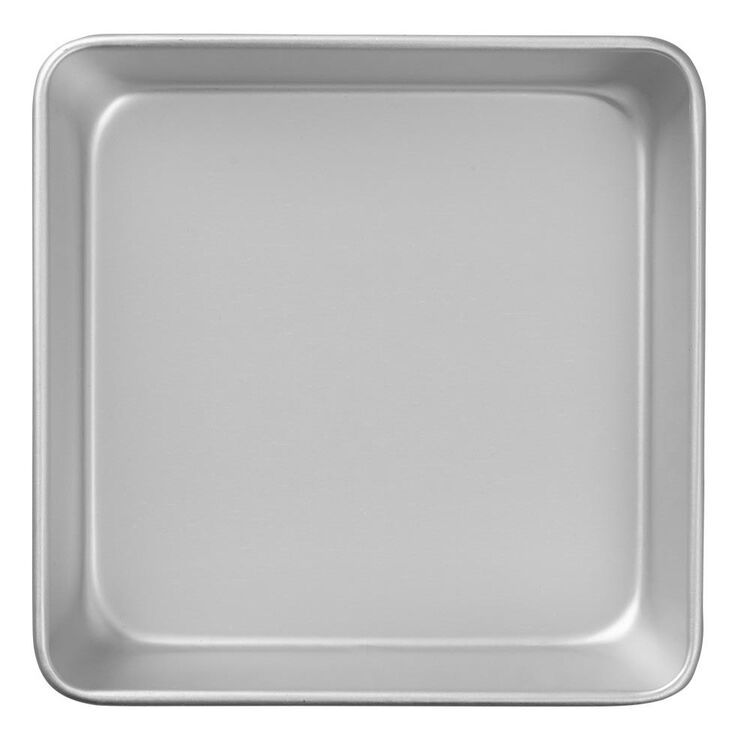 Performance Pans Aluminum Square Cake and Brownie Pan, 8-Inch