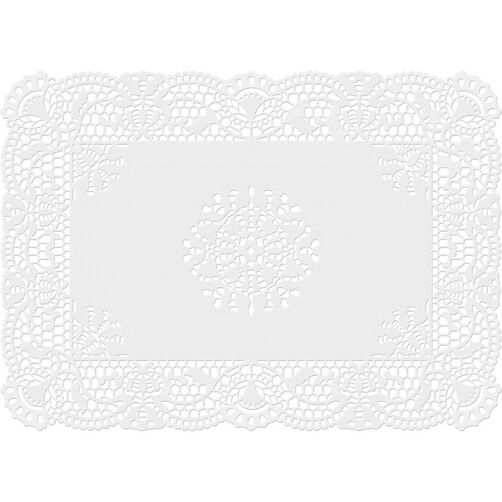 10 x 14 Grease Proof White Doilies