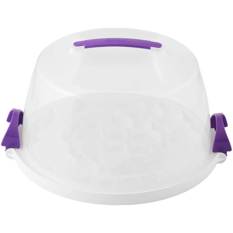 Round Cupcake Carrier with Cover