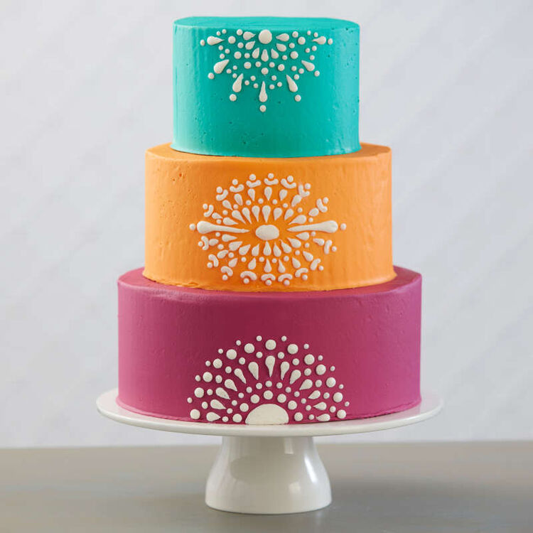 Round Cake Decorating Tip 4