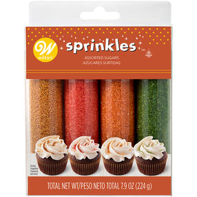 Autumn Sugar Sprinkles, 4-Piece