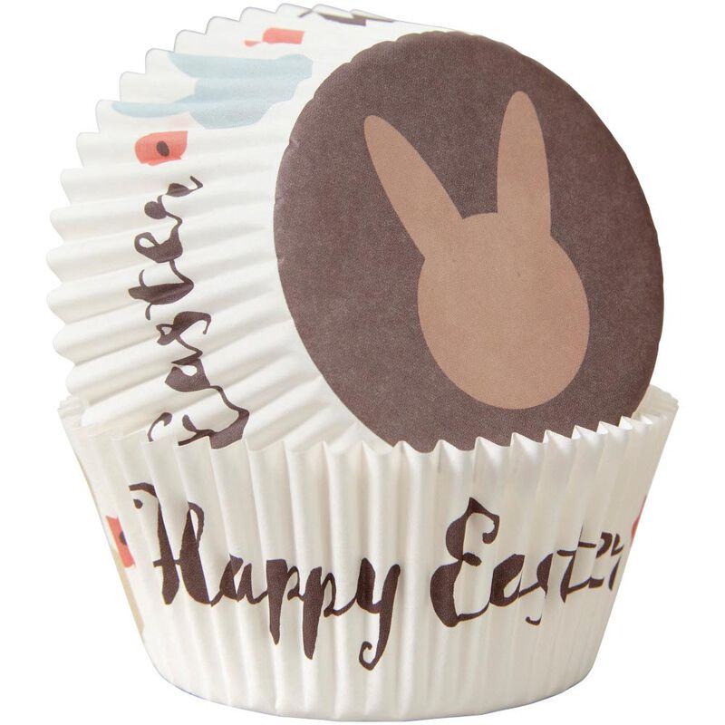 Happy Easter Bunny Cupcake Liners, 75-Count image number 2
