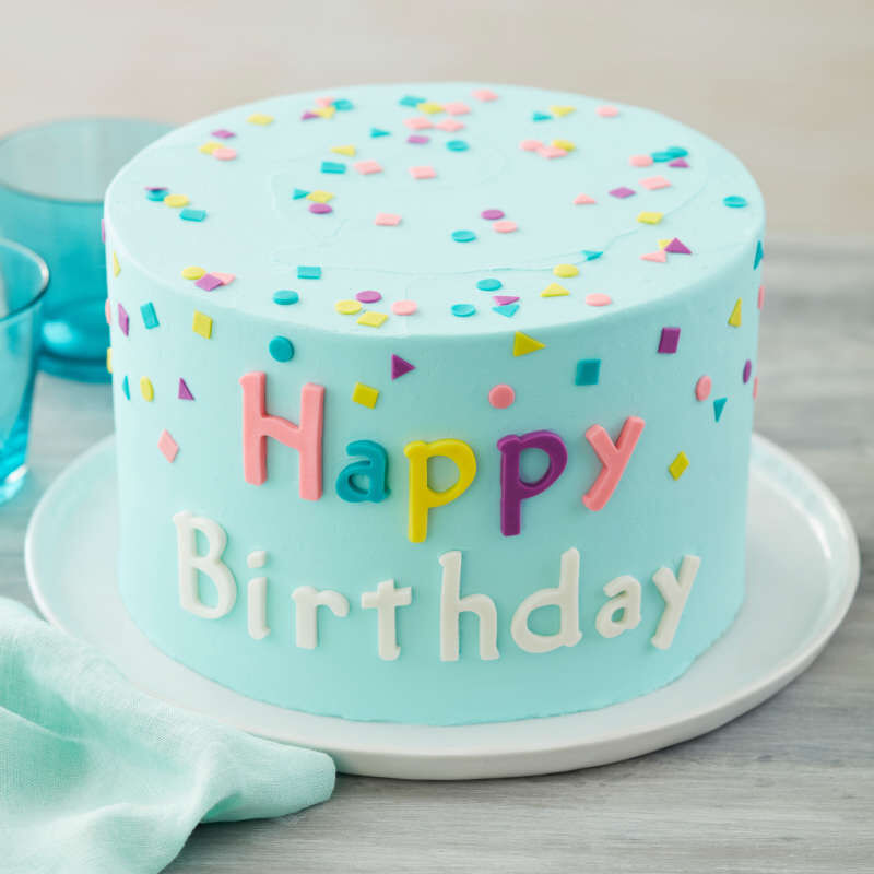 Silicone Letters and Numbers Fondant and Gum Paste Molds, 4-Piece - Cake Decorating Supplies image number 5