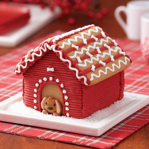 Build it yourself gingerbread doghouse decorating kit wilton gingerbread doghouse decorating kit solutioingenieria Choice Image