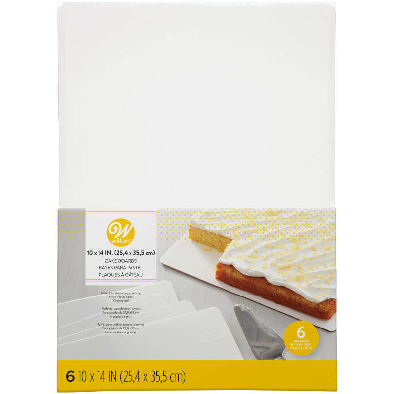 Rectangular Cake Boards in Packaging image number 0