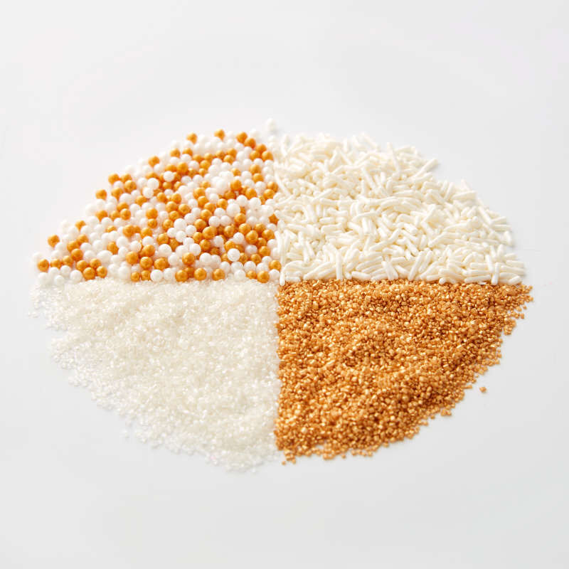 4-Cell Pearlized Gold Sprinkles Mix, 3.8 oz. image number 5