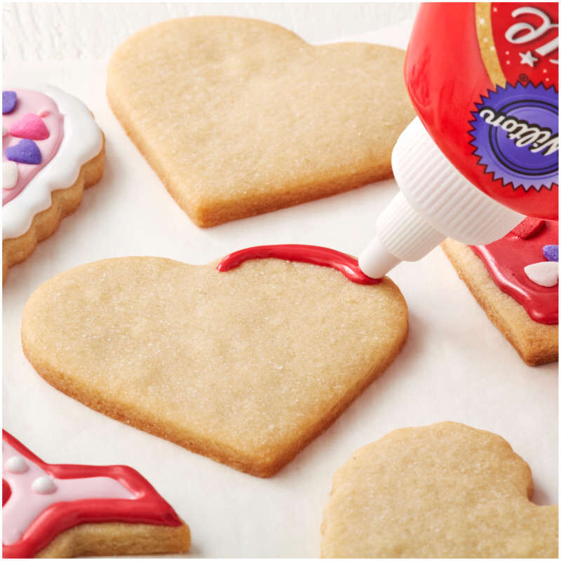 Valentine's Day Cookie Cutter and Decorating Set, 7-Piece image number 4