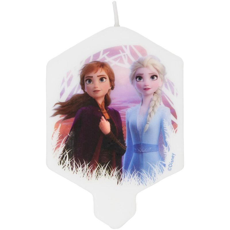 Disney Frozen 2 Birthday Candle image number 0